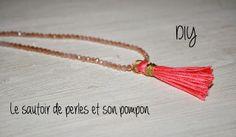 Le blog d'Anastasia: DIY: Le collier pompon //  DIY: The pompon necklac...