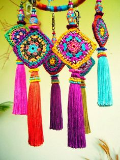 creative colorfull tassel collections ~ Creatively Carved Life