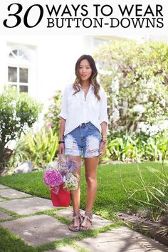 How to Wear a Button-Down in a Stylish Way