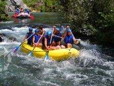 Rafting on Cetina If you want some great rafting, then remember the names of these rivers: Kupa, Dobra, Mrežnica, Korana, Una, Zrmanja and Cetina.