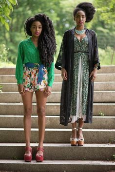Urban Bush Babes's Cipriana Quann on Twin Sister Style — Vogue