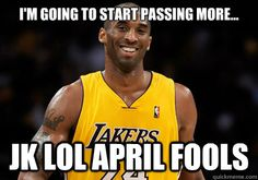 Kobe passes up chance to score. Wait,what? - Beer Mug - You may not like us, but your girlfriends do.