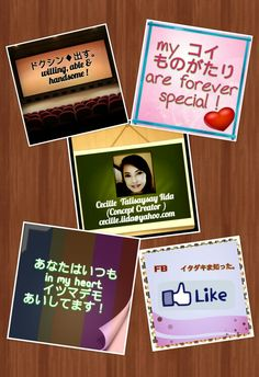 Practical Life Quotes....bilingual series