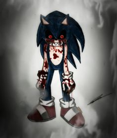 My first Sonic EXE Creepypasta by GothicYola