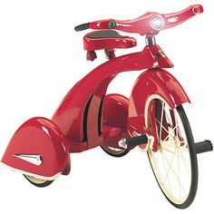 Sky King Red Tricycle