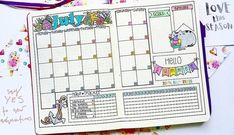Plan and organize your entire day or week with these easy and creative bullet journal ideas. Use these bullet journal hacks as inspiration for your bujo! Bullet Journal System, Bullet Journal Easy, Bullet Journal Month, Bullet Journal For Beginners, Bullet Journal Printables, Bullet Journal Notebook, Journal Template, Bullet Journal Spread, Bullet Journal Layout