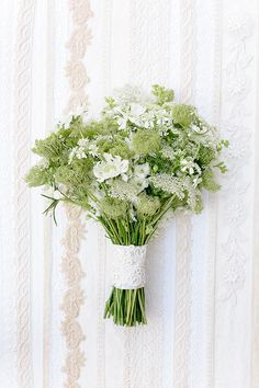 Queen Anne's lace bouquet inspiration by Annabella Charles