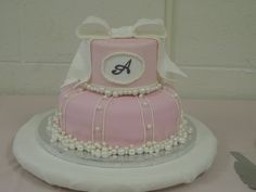 Bridal shower cake... Wedding Shower Cakes, Baby Wedding, Wedding Ideas, Pie Cake, Pretty Cakes, Cake Decorating, Decorating Ideas, Amazing Cakes, Projects To Try