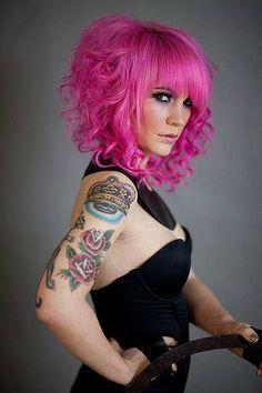 Pink hair-Miss my pink hair