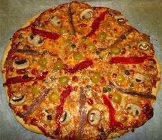 Cuina amb la mestressa: Pizza favorita y masa fina básica