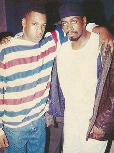 Jay-Z and Jaz, 1992, Big Daddy Kane's Birthday Party, New York
