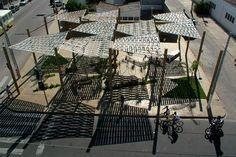 Praça Turca, Juazeiro BA. Arquiteta Naia Alban, 2005Foto Sete43arquitetura