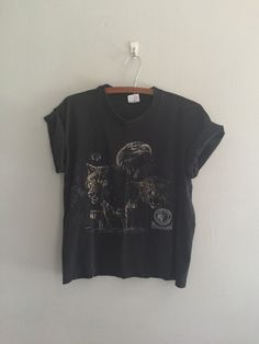 A personal favorite from my Etsy shop https://www.etsy.com/listing/243984135/vintage-oversized-animal-tee