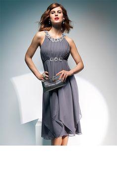 Evening Cocktail Dress - Dresses - Grace Hill Beaded Detai Dress - EziBuy Australia