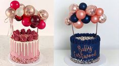 Cake Decorating Videos, Cake Decorating Supplies, Cake Decorating Techniques, Birthday Balloon Decorations, Diy Birthday Decorations, Cake Table Birthday, Birthday Cake Toppers, Balloon Cake, Balloon Arch