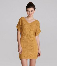 Available at Dillards.com #Dillards Tunic Sweater, Sweater Dresses, Short Sleeve Dresses, Dresses With Sleeves, Dillards, Sequins, Sweaters, Clothes, Hearts