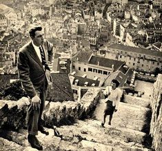 Lisbon, view from Saint George Castle.1948. photo by Stanley Kubrick.