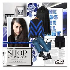 """""""On the blue - Yoins.com J1"""" by undici ❤ liked on Polyvore featuring BCBGMAXAZRIA, Bardot, women's clothing, women's fashion, women, female, woman, misses and juniors"""