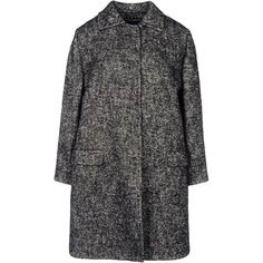 DOLCE & GABBANA Coat (1 035 AUD) ❤ liked on Polyvore featuring outerwear, coats, jackets, coats & jackets, pattern coat, fur-lined coats, tweed wool coat, long sleeve coat and tweed coats
