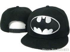 055a67dba53ebb Batman Cartoon Snapback Cap blue red black classic men & women's designer  snapback hats top quality Freeshipping $9.88
