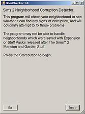 Mod The Sims - HoodChecker 1.0.3 - Neighborhood Corruption Detector (Updated February 11, 2013)