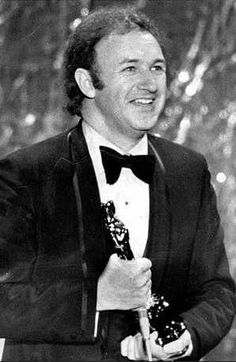 """1972 Oscars: Gene Hackman, Best Actor 1971 for """"The French Connection"""""""