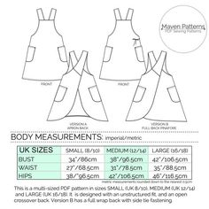 The Maria Wrap Apron PDF sewing pattern Japanese di mavenpatternscross back japanese apron patterns - - Yahoo Image Search ResultsOnline shopping from a great selection at Arts, Crafts & Sewing Store. Apron Pattern Free, Pdf Sewing Patterns, Dress Patterns, Apron Patterns, Vintage Apron Pattern, Sewing Aprons, Sewing Clothes, Sewing Dolls, Dress Sewing