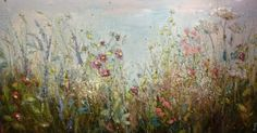'Time stood still for just a moment' by Marie Mills - oil on linen - 150cm x 80cm - £1995 - at www.lyndhurstgallery.com