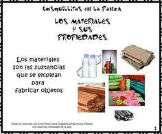 CoSqUiLLiTaS eN La PaNzA BLoGs: LOS MATERIALES Y SUS PROPIEDADES C/ ACTIVIDADES