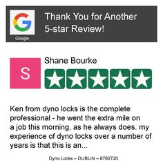 Wow! One of our customers just left on our Review Page a 5-star Review! Want to Review us too? Click or Tap here: https://hoy.cc/1ar
