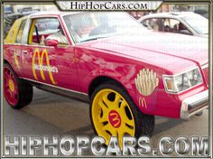 Mcdonalds themed car