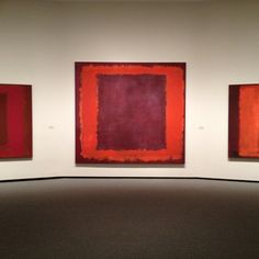 Rothko's lovely red room at Tate Modern. I used to sit there and prepare my Spanish lessons. Mark Rothko Paintings, Rothko Art, Tate Modern Museum, Edward Hopper, Modern Art, Contemporary Art, Art Moderne, Art Plastique, Artist Art