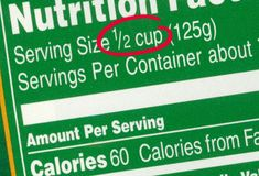 Watch the Serving Size    Don't fool yourself by thinking that the sodium content listed on a nutritional label is for the entire package. Before you blow your entire day's worth of sodium, determine exactly what one serving equals.