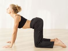 Stretches For Lower Back Pain... good to know considering my back has been out for a week now!