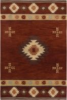 Inspired by the distinctive styling of Native American art and textiles, the Southwest collection sets the tone for a room that shows timeless character.  Each piece is hand crafted of soft blended wool that has been dyed in a large range of rich colors. Southwest rugs are available in an expanded variety of sizes to meet unique size requirements.