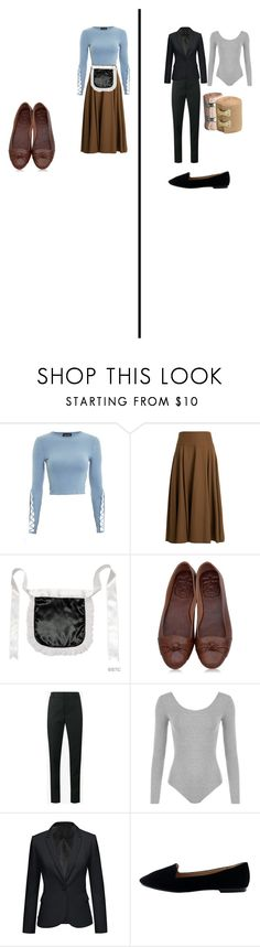 Cinderella(Ish) 1 by abbylarose8 on Polyvore featuring Topshop, Yves Saint Laurent, Joseph and WearAll