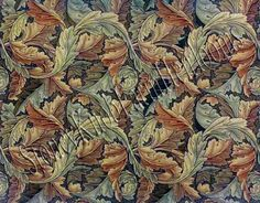 The Acanthus Design ~ William Morris ~ Counted Cross Stitch Pattern ~ PDF on CD Counted Cross Stitch Patterns, Cross Stitch Embroidery, Pattern Art, Art Patterns, William Morris Art, Cross Stitch Supplies, Acanthus, Wallpaper, Artwork