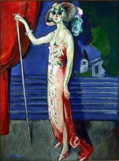 At the Folies Bergeres - Kees van Dongen