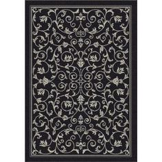 Safavieh Courtyard Black/Sand 9 ft. x 12 ft. Area Rug-CY2098-3908-9 at The Home Depot