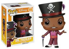 Funko Pop vinyl figure- Dr. Facilier from Disney's Princess and the Frog