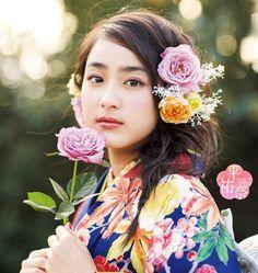 Japanese Beauty, Asian Beauty, 12 November, Cute Japanese Girl, Japanese Characters, Kokoro, Yukata, Kawaii Girl, Traditional Outfits