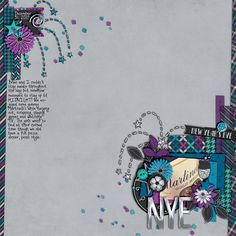 Countdown to Midnight Collection by SuzyQ Scraps Tightly Twisted by Zoliofrope DJB Fancy Nancy