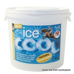 Natural Animal Feeds Ice Cool A highly effective 24 hour cooling clay containing a blend of natural clays together with witch hazel and arnica.