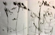 https://www.facebook.com/sahong.gum Drawing on Book, Gum-Sahong Drawing, 금사홍, 드로잉, 북