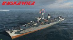 World of Warships: Blyskawica