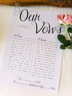 here are some tips to get started with the best vows in the world to let your love (and everyone else) know just how you feel. Shout your love from the rooftop. Go for it!
