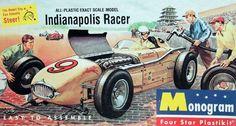 Monogram Indianapolis Racer  box art