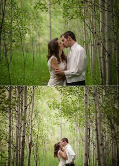 Aspen Wedding at @Hotel Jerome Aspen - sigh, to be married in an aspen grove