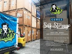 Self Storage, Your Space, Cube, Commercial, Van, Learning, Studying, Teaching, Vans