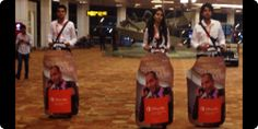 Up, Up and Away: Innovative brand experiences at Airports